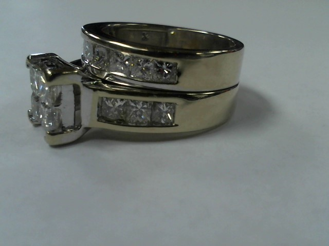 14k WG LDS WEDDING SET SIZE 7