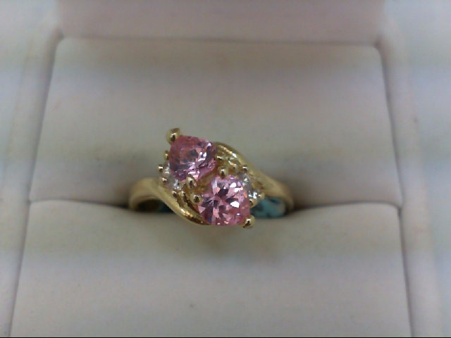 Lady's Gold Ring 14K Yellow Gold 4g