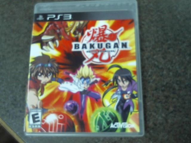 SONY Sony PlayStation 3 Game BAKUGAN BATTLE BRAWLERS