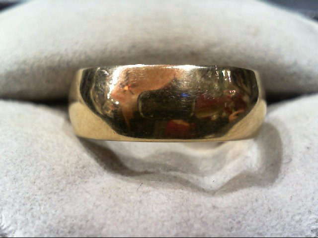 Gent's Gold Ring 10K Yellow Gold 6.1g Size:10.3
