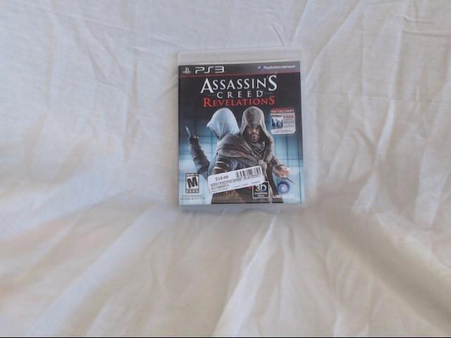 SONY PS3 ASSASSIN'S CREED REVELATIONS