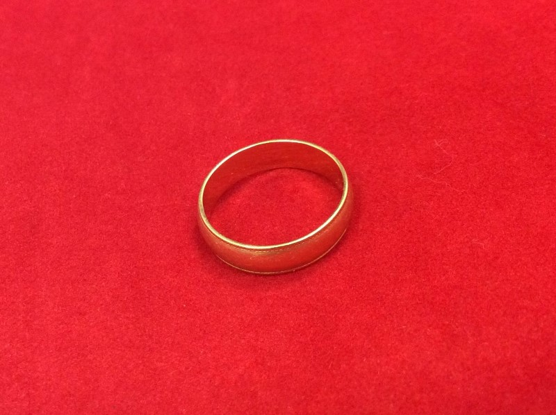 Lady's Gold Ring 14K Yellow Gold 2.89g Size:6