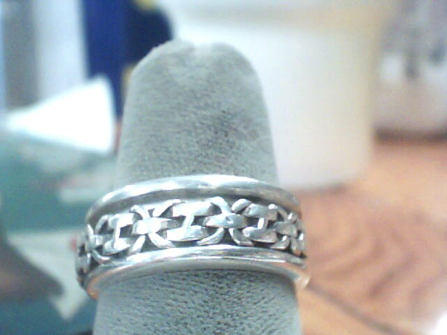 Gent's Silver Wedding Band 925 Silver 5.4dwt