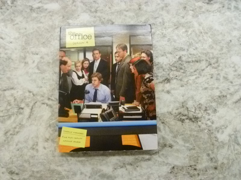 DVD BOX SET THE OFFICE SEASON 4
