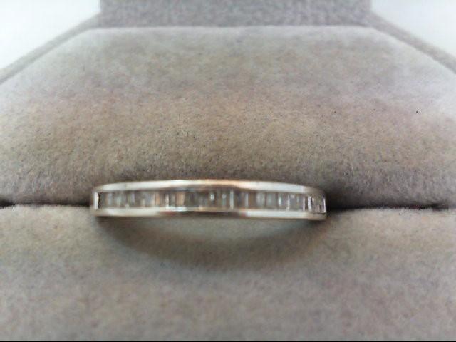 Lady's Diamond Wedding Band 26 Diamonds .26 Carat T.W. 14K White Gold 2g
