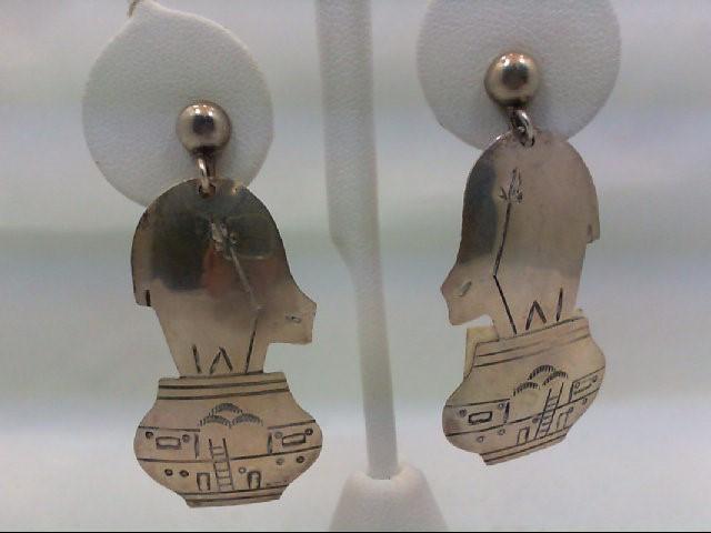 Silver Earrings 925 Silver 7.6g