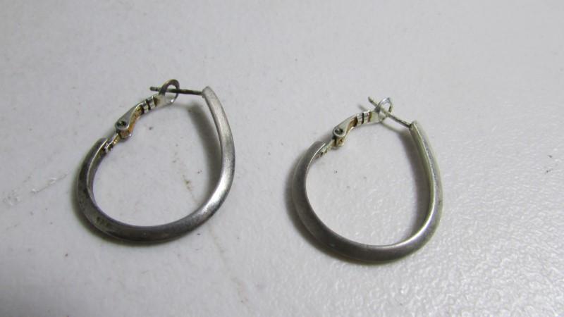 Silver Earrings 925 Silver 3.66g
