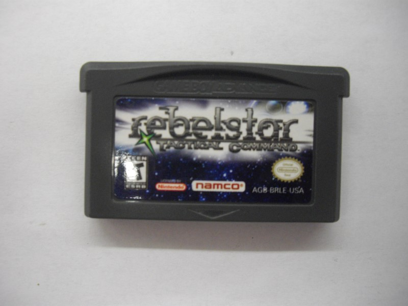 NINTENDO GBA Game REBEL STAR TACTICAL COMMAND