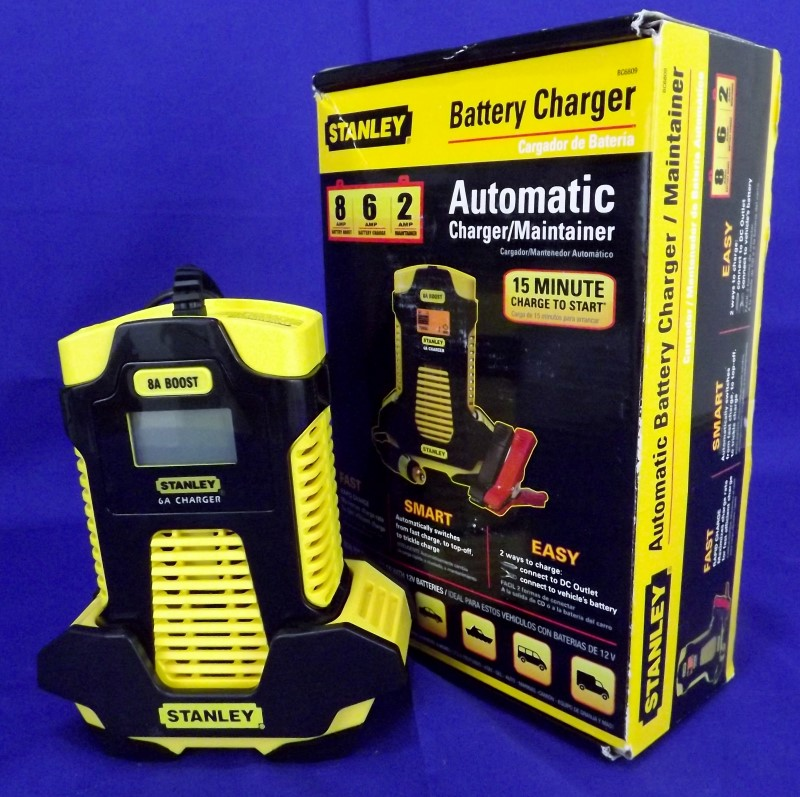 STANLEY BC6809 ONE TOUCH BATTERY CHARGER