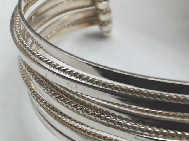 Silver Cuff Bracelet 925 Silver 26g