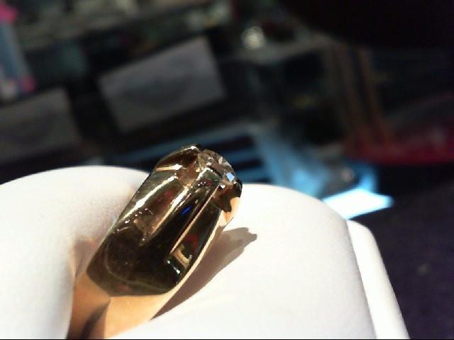 Gent's Diamond Fashion Ring .50 CT. 18K Yellow Gold 11.64g