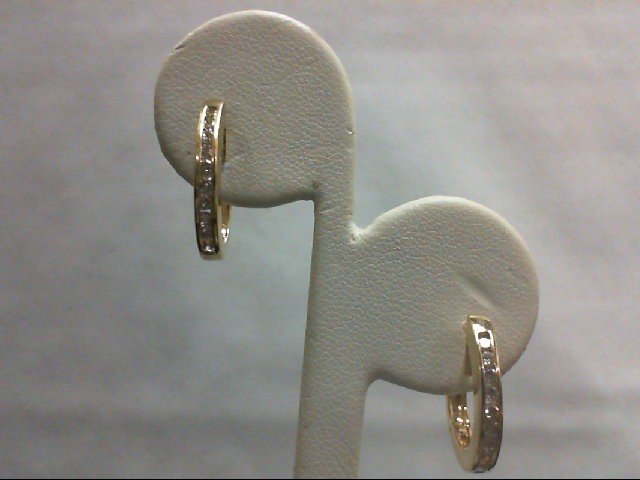 Gold Earrings 14K Yellow Gold 4g