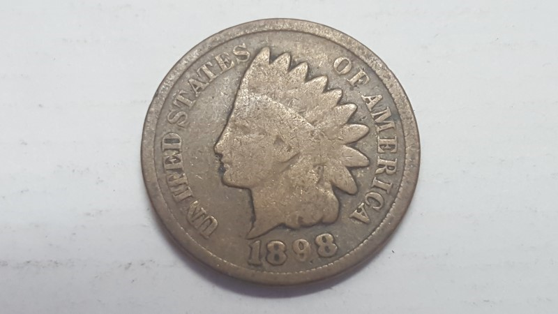 UNITED STATES Coin 1898 INDIAN HEAD PENNY