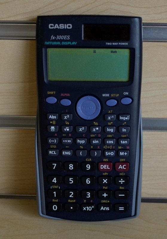 CASIO CALCULATOR FX-300ES