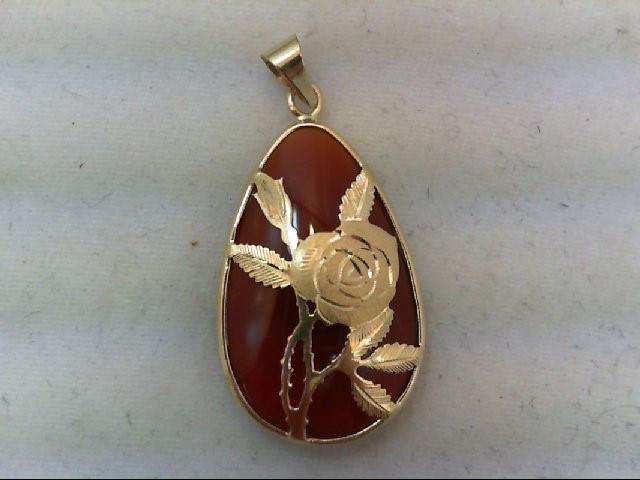 Gold Pendant 14K Yellow Gold 3g
