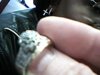 Lady's Diamond Cluster Ring 32 Diamonds .32 Carat T.W. 14K Yellow Gold 5.5g
