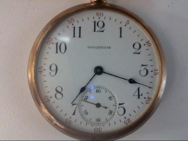 WALTHAM POCKET WATCH CIRCA 1908