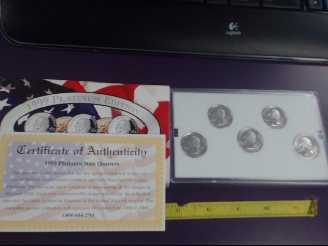 1999 Platinum Edition - State Quarter Collection