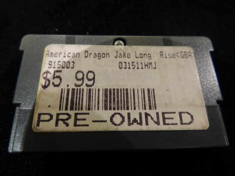 AMERICAN DRAGON JAKE LONG RISE OF HUNTSCLAN - GAMEBOY ADVANCED GBA