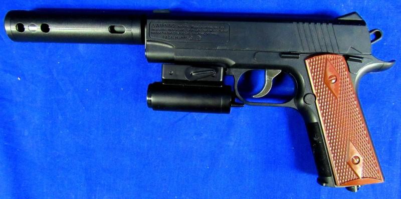 CROSMAN 1911BB BB GUN