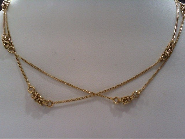 "30"" Gold Chain 18K Yellow Gold 7.5g"