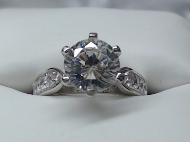 Lady's Silver Ring 925 Silver 4.1g Size:6
