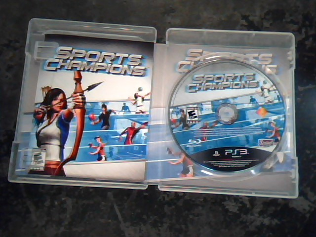 SONY Sony PlayStation 3 Game SPORTS CHAMPIONS - PS3