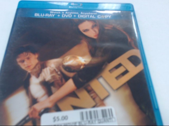 WANTED - BLU-RAY MOVIE