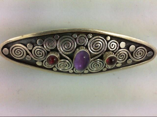 Silver Brooch 925 Silver 4.3g