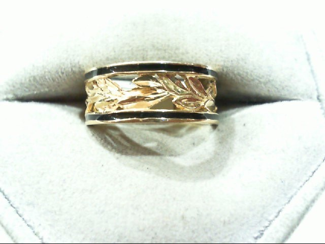 Lady's Gold Ring 10K Yellow Gold 4.4g