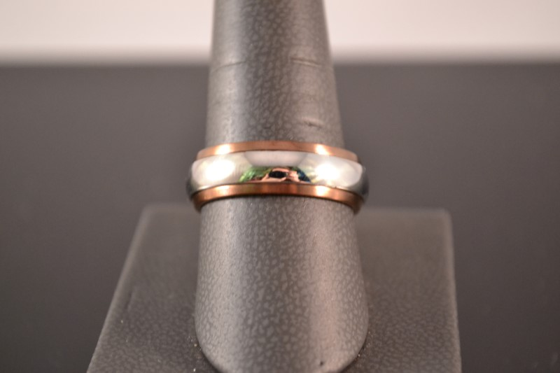 Gent's Ring Silver Stainless 5.9g