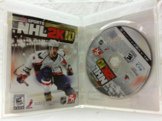 SONY Sony PlayStation 3 Game NHL 2K10