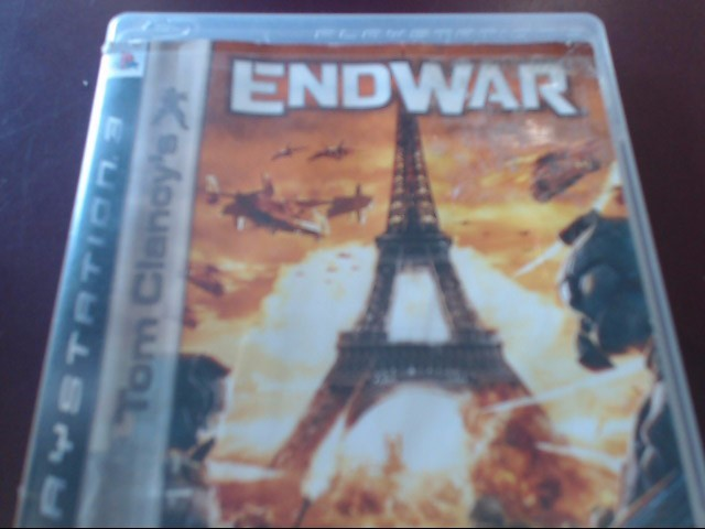 SONY PS3 ENDWAR