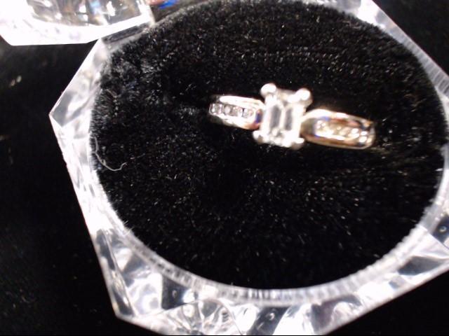 Lady's Diamond Solitaire Ring 11 Diamonds .40 Carat T.W. 10K Yellow Gold 2.6g
