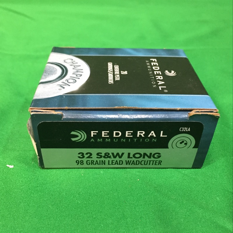 FEDERAL AMMUNITION Ammunition 32 S&W LONG