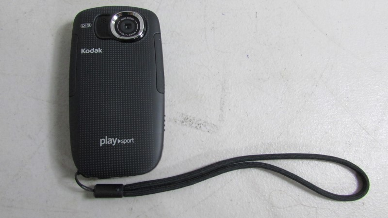 KODAK Digital Camera PLAY SPORT - WILL NOT CHARGE SOLD FOR PARTS - AS-IS