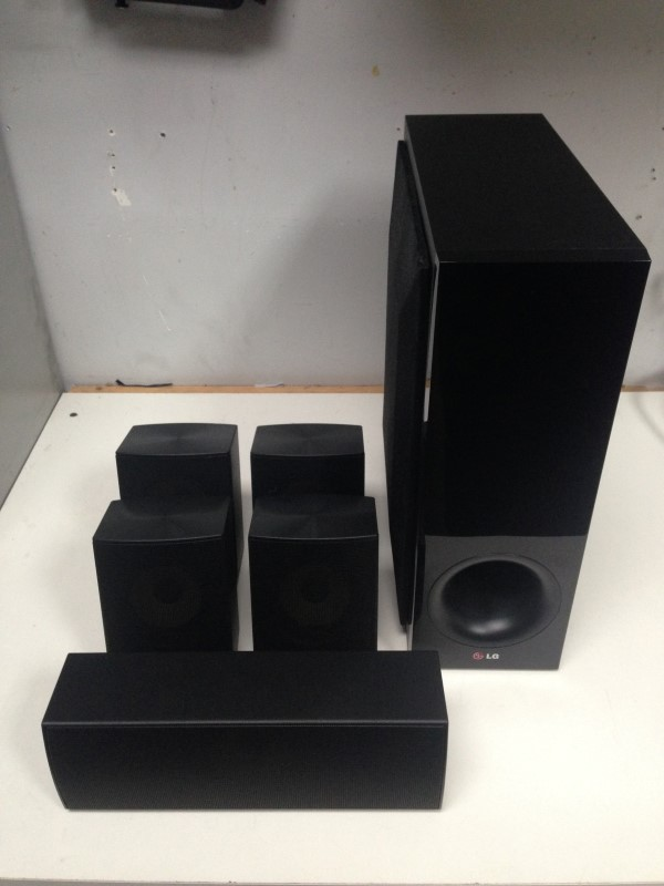 LG MODEL BH6730S HOME THEATER SYSTEM