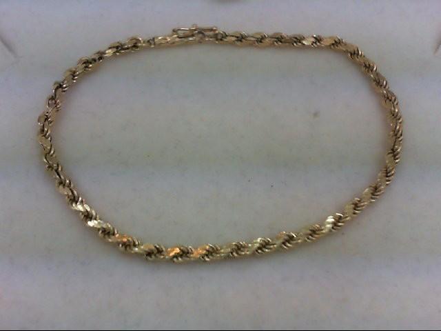 Gold Bracelet 14K Yellow Gold 2.2g