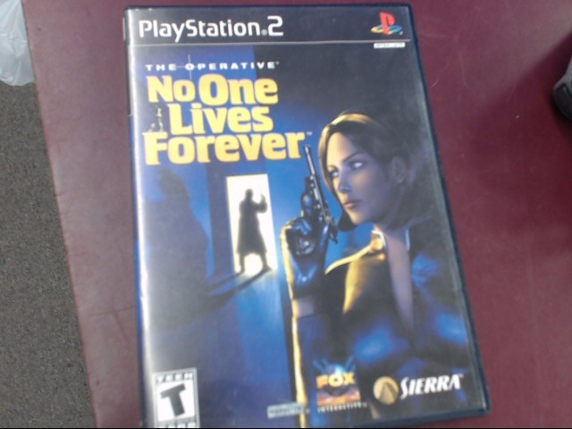 SONY PS2 NO ONE LIVES FOREVER