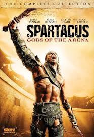DVD BOX SET DVD SPARTACUS GODS OF THE ARENA