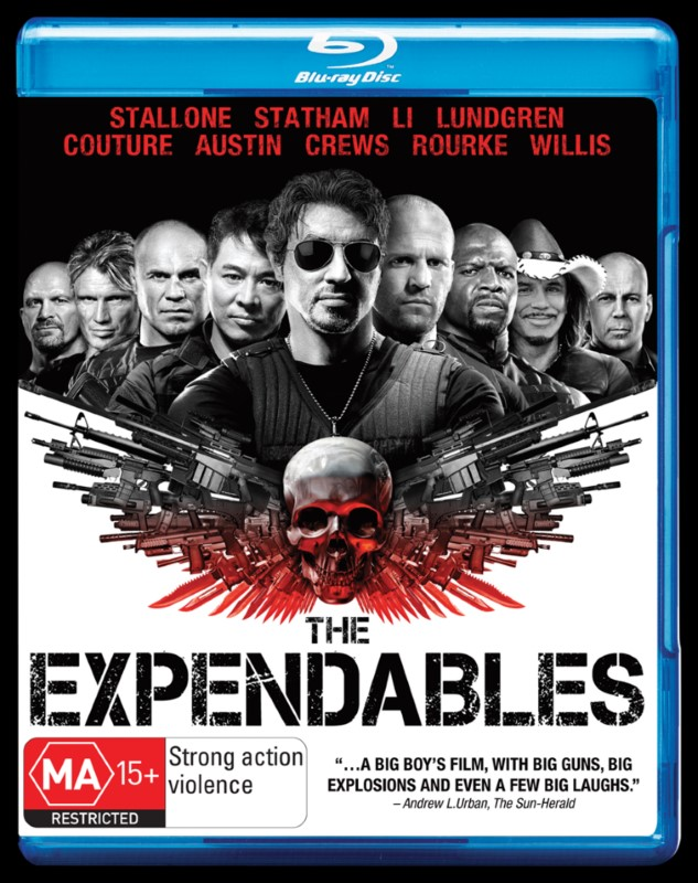 Blu-ray The Expendables *FORMER RENTAL*
