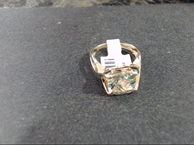 Lady's Gold Ring 14K Yellow Gold 6.1g