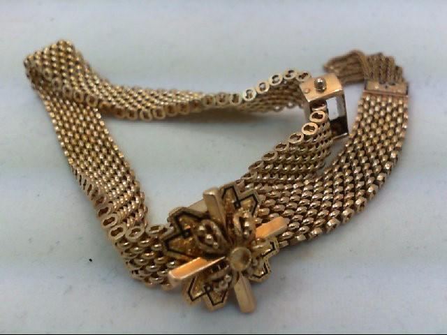 Gold Bracelet 14K Yellow Gold 25g