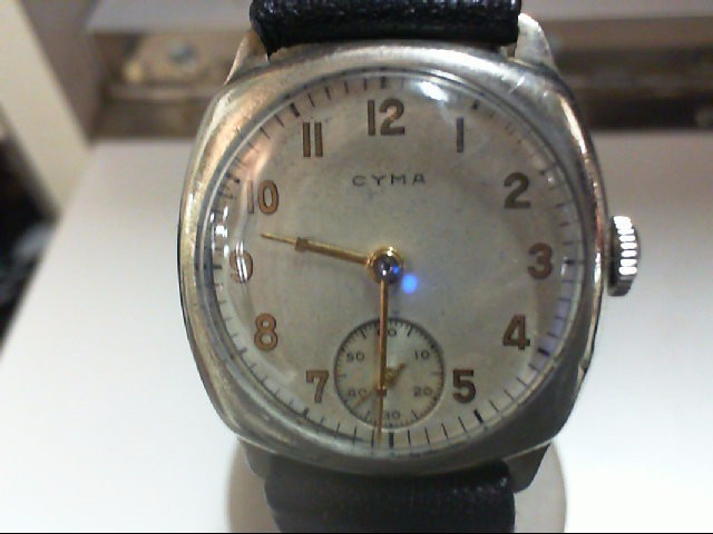 MANS CYMA WRIST WATCH