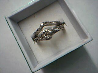 Lady's Silver Ring 925 Silver 5.43g