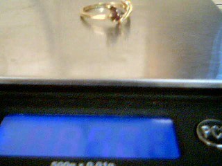 Lady's Gold Ring 14K Yellow Gold 2.3g