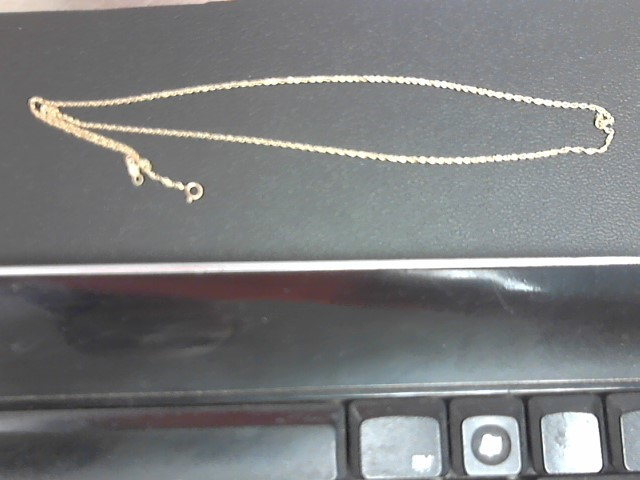 "18"" Gold Chain 14K Yellow Gold 1.5g"