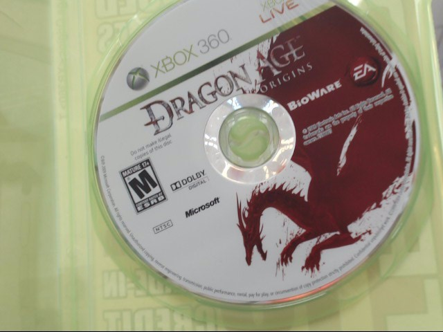Dragon Age: Origins (Microsoft Xbox 360, 2009) Disc Only!!
