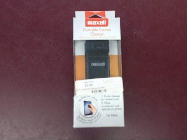 MAXELL PORTABLE SCREEN CLEANER