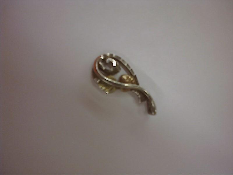 Coleman Black Hills Gold Silver Pendant 925 Silver 1.39dwt